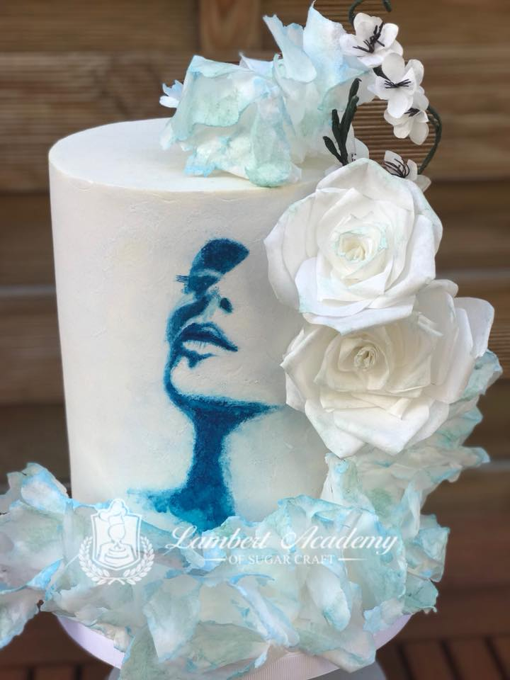 painted cake