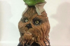 star wars inspired stacked heads