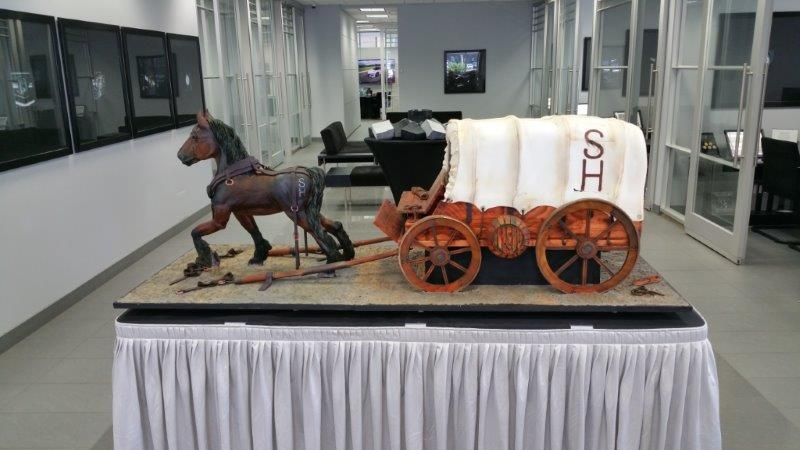 Silverhill Stampede cake in all its glory!