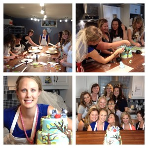 Bachlorette Cake Decorating Party