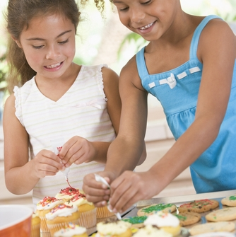 Fun times for kids baking